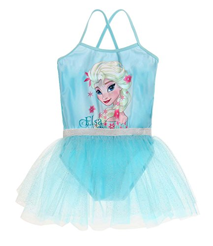 Disney Die Eiskönigin Elsa & Anna Mädchen Ballettanzug - türkis - (Outfit Elsa Disney)