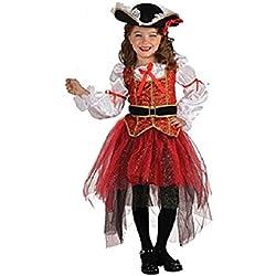 Vestido de la princesa oficial del mar, talla mediana.