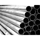 TUBO tondo in acciaio dolce Hollow circolare in metallo tubo 21-89mm DIAM lunghezza di taglio