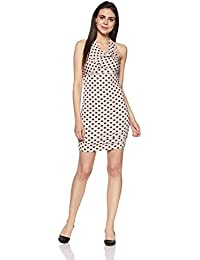 GUESS Women's Cotton Body Con Dress