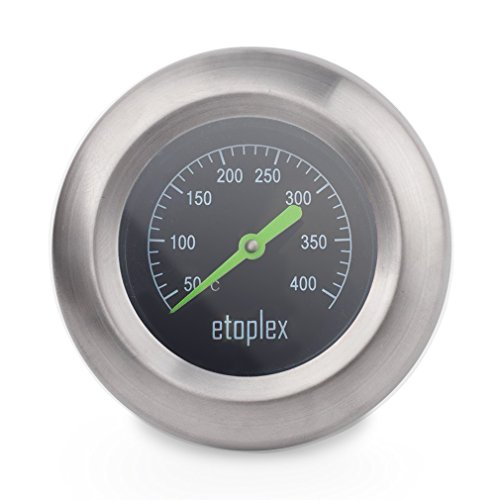 Etoplex 60041 Thermometer für Grill, Smoker, Räucherofen und Grillwagen (Up To 400 °C)