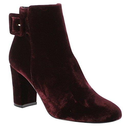 Damen amp; Borgonha Paris Rot Sapatos Lio Stiefel Exclusivo Stiefeletten Mulher Botas 0xxX6Sq1