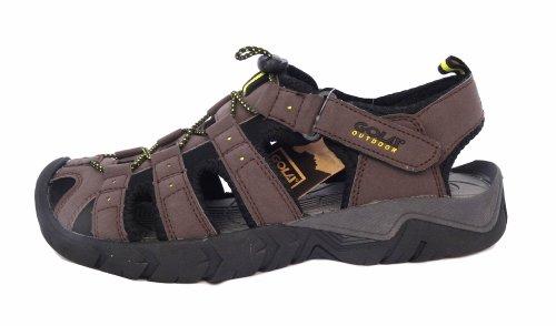 Gola Shingle 2 Sandales de marche/randonnée pour homme Taille 41 à 47 Marron - Dark Brown/Black