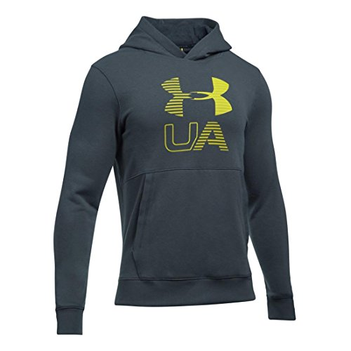 Under Armour Threadborne Graphic Hoodie Felpa da Uomo Stealth Grau