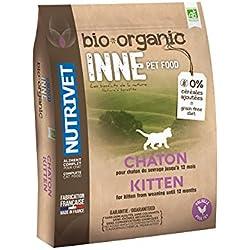 Nutrivet INNE PET FOOD Aliment Complet Bio pour Chaton 6 kg