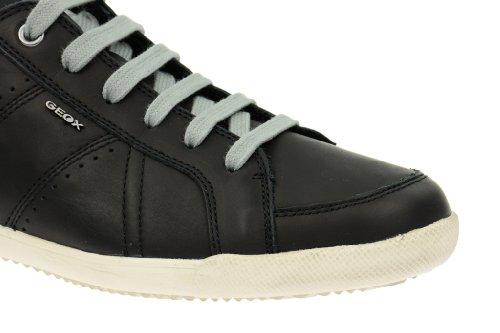 Geox X Cult Schuhe in schwarz Halbschuhe U42F5A Schwarz