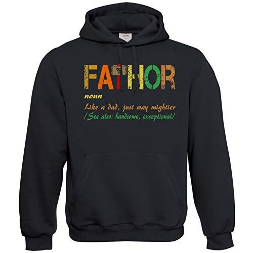Daddy Hoodie (Viper Fathor FA Thor Fathers Day Birthday for Dad Or Daddy Hoodie (Black, XXXL))