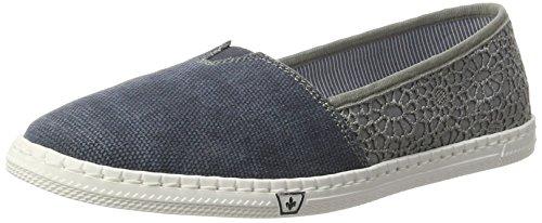 Rieker Damen M2750 Slipper, Blau (Jeans/Jeans/14), 39 EU