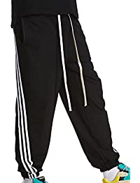 Fräulein Fox Hommes Casual Sport Long Pants avec Cordon Fashions Slim Rayée  Épissure Pantalons de Jogging Fitness… 766f7f3aa20c