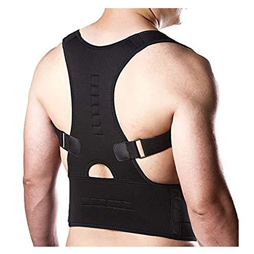 ZKKK Rückenstütze Körperhaltung Korrektor,Verstellbare Rücken-, Hals- und Schulterstützen helfen bei der Verbesserung der Körperhaltung für Frauen und Männer,XL