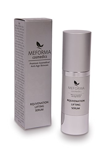 Lifting Face Serum (Meforma Rejuvenation Lifting Serum 30 ml | Hyaluron Wirkstoffkosmetik | Luxuriöses Face-Lifting-Serum mit liposomalverkapselter mittelmolekularer Hyaluronsäure, Argirelox®, Matrixyl 3000, PRODEW® 500 und Lotusblütenextrakt Extrakt | Premium Anti-Aging Serum von Meforma Cosmedics)