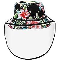 Rinder Antisaliva Sombrero de Protección Impreso Patrón Pescador Sombrero Máscara Protector Ojos Anti-Saliva Anti-vaho Pescador Ha, E