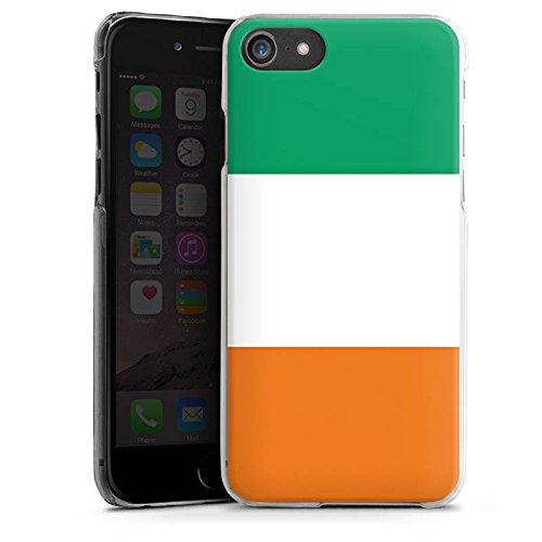 Apple iPhone X Silikon Hülle Case Schutzhülle Elfenbeinküste Flagge Fußball Hard Case transparent