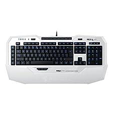 ROCCAT Isku FX Illuminated Gaming Keyboard - White UK Layout