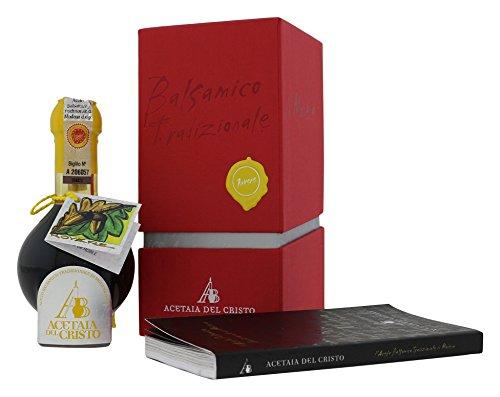Acetaia del Cristo PEP-AR Aceto Balsamico Tradizionale di Modena DOP - 100 ml - 12 Anni Aceto Balsamico