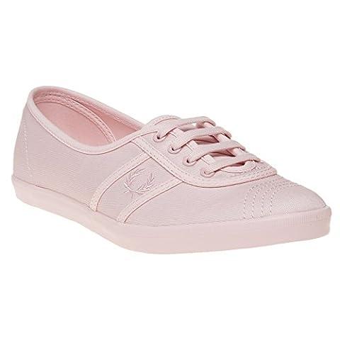 Fred Perry Aubrey Twill Damen Sneaker Pink
