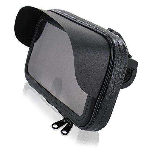 Da-lite 150 (Motorrad Fahrrad Bike Set Halterung Tasche mit Sonnendach L für Smartphone Handy Geräte bis max. 150 x 80 mm)