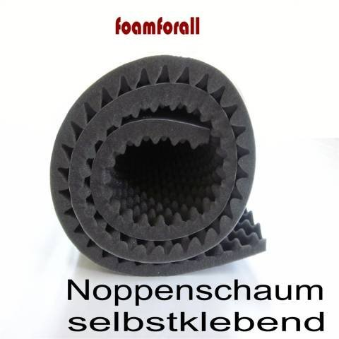 Noppenschaum selbstklebend 200x100x3cm Akustik Schalldämmung XXl Top