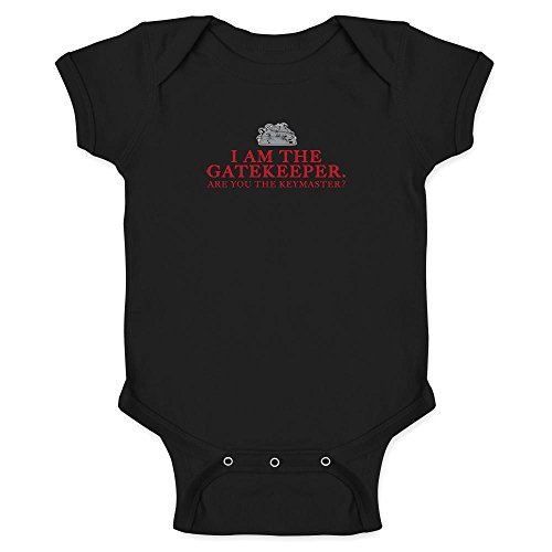 Pop Threads I Am The Gatekeeper Are You The Keymaster Infant Bodysuit by