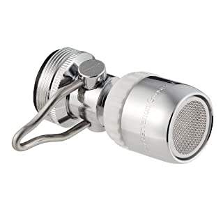 AM Conservation Group, Inc. FA021-C-1.5 Simply Conserve Low Flow 1.5 GPM Single Spray Swivel Faucet Aerator with Pause feature