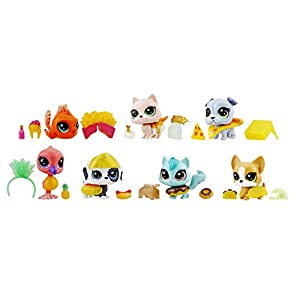 Littlest Pet Shop- Edición Especial Mega Pack, Multicolor (Hasbro E5155EU4)