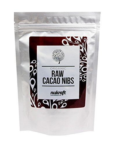 Organic raw Cacao Nibs by Nukraft Available in 250g, 500g, 1kg and 15kg