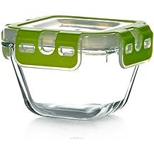 Pasabahce 53562Store Max––Recipiente hermético, bote de cristal con tapa de clip, 290ml