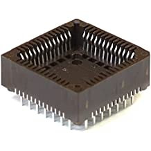 Preci-Dip Durtal PLCC-52 Integrated Circuit Carrier Chip Socket / IC Sockel THT (Generalüberholt)