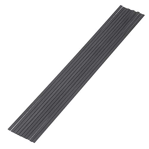 TuToy 10Pcs/Set 200Mm Square Carbon Fiber Stangen Streifen Carbon Fiber Square Bars Matt Surface Für Rc Airplane Diy Tool - #2 -