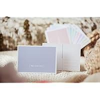 Bruderherz - liebevolle, schlichte Postkarte - Grußkarte - Geschenkkarte - pastell blaue Karte zum Thema Liebe Zuneigung Freundschaft Familie Geburtstag