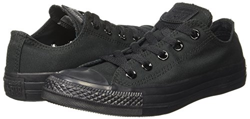adfc9df890e ... Converse Unisex Mono Black Sneakers - 10 UK India (44 EU)(150764C ...