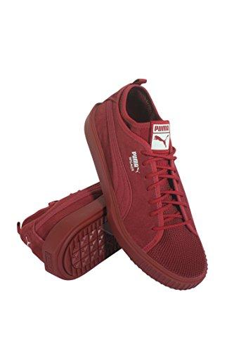 PUMA New Men s Breaker Mesh Sneaker Red Dahlia 9