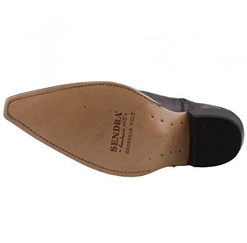 Sendra Boots , Bottes et bottines cowboy homme Gris - Anthracite