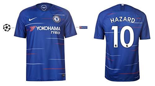 FC Chelsea Trikot Herren 2018-2019 Home UCL - Hazard 10 (M)