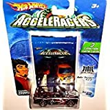 Hot Wheels AcceleRacers Metal Maniacs #6 of 9 Rollin' Thunder CM6 (6 Spoke Maroon Version)