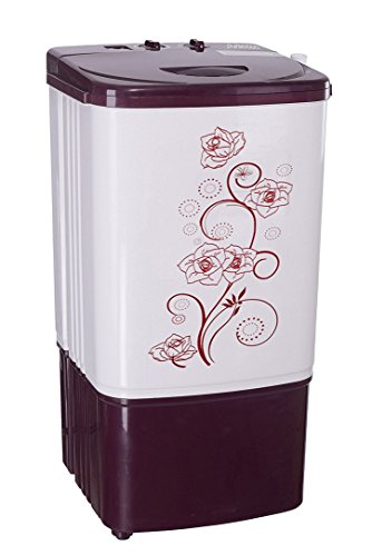 Noble Skiodo Semi-automatic Top-loading Washing Machine (Washer Only, 7 Kg, Burgundy and Grey)