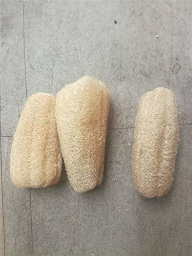 Scheda dettagliata Hiikk 10-15 cm Spugna da Lavare a Base di luffa Naturale da Cucina Anti-Olio Scrubber Antiaderente per Piatti Ciotola Spazzola per la Pulizia Spugna da Bagno luffa