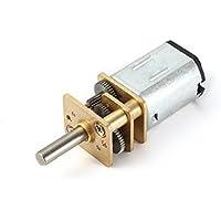 sourcingmap® DC 12V 600RPM Motor de reducción de velocidad Micro Motorreductor eléctrico