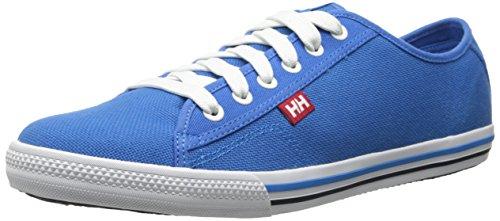 Helly Hansen Fjord Canvas, Scarpe da Ginnastica Uomo Blau, Weiß (535 Racer Blue / Off White / N)