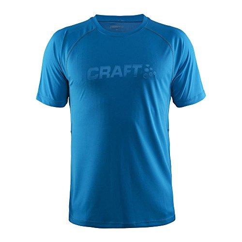 Craft Herren Funktionsshirt Prime Short Sleeve Tee bleu