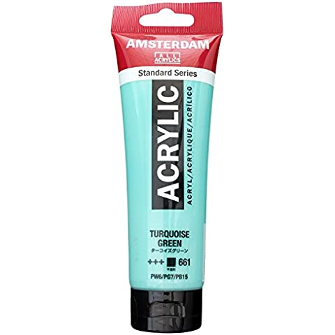 Royal Talens Farben - Colore acrilico Amsterdam, 120 ml, turchese