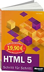HTML 5 - Schritt für Schritt, Jubiläumsausgabe zum Sonderpreis