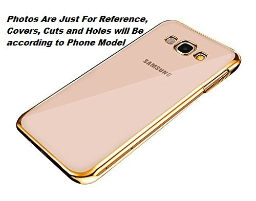Delkart Side Gold Soft Silicon Cover For Samsung Galaxy Core 2  available at amazon for Rs.119