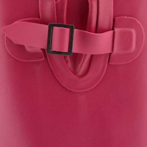 Footwear Sensation , Damen Jagdstiefel Hot Pink Wide Fit
