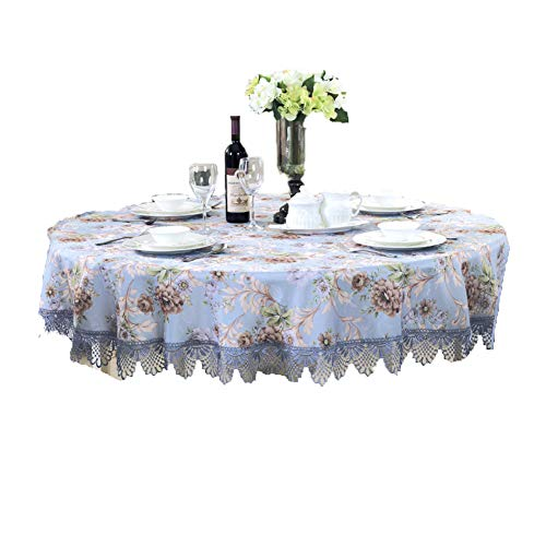 BATSDCB Europäische Rustikale Tabelle Tuch, High-end Mittelmeer Handmade Hohl aus Tischdecken,...