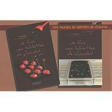 Coffret 100 recettes de tablettes de chocolat : Avec un moule à tablette de chocolat