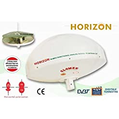 HORIZON – ANTENNA TV DIRETTIVA PER CAMPER – 37cm diam