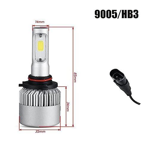 H11 ampoule de projecteur LED IP68 classe de protection 50-80w 6500K 8000LM lumens aurora Haute température 2 ans de garantie , 9005/HB3/H10