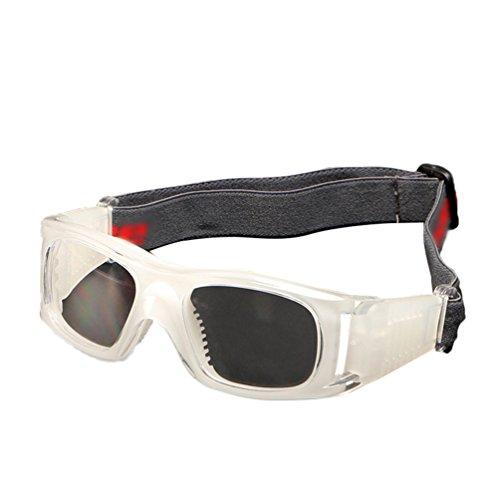 Dexinx Unisex weiche atmungsaktive Motocross-Roller-Fahrrad Fliegerbrille Anti-UV Stoß- Brillen für Motocross, Radfahren, Skifahren Transparent