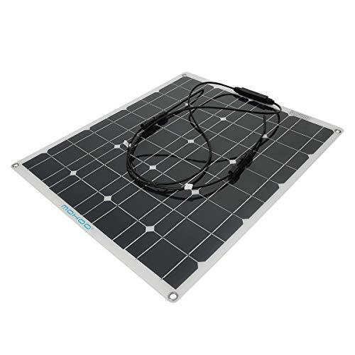 Cargador Panel Solar MOHOO Portatil sin Batería Sunpower 50W 12V MC4 Interface Placa Solar Doblado y Portátil, de Resistente Agua, Externa Batería Plegable para Teléfono, Altavoz, Tablets etcDetalles del producto:  Tipo de producto: 50W 18V Dimension...